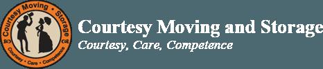 Courtesy Moving And Storage Logo